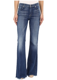 7 For All Mankind Tailorless Ginger with Raw Hem in Athens Broken Twill