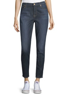 7 For All Mankind The Ankle Gwenevere Crop Jeans