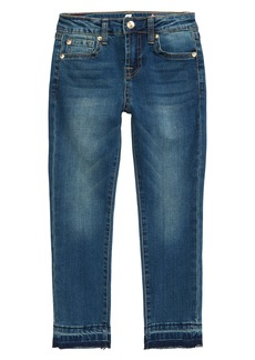 7 For All Mankind® The Ankle Released Hem Skinny Jeans (Big Girl) (Seratoga Bay)