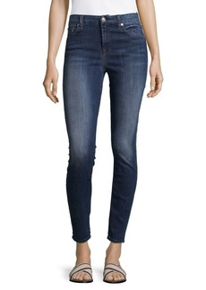 7 For All Mankind The Ankle Skinny-Fit Jeans