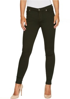 7 For All Mankind The Ankle Skinny in Central Green