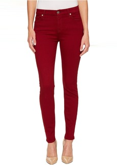 7 For All Mankind The Ankle Skinny in Ruby