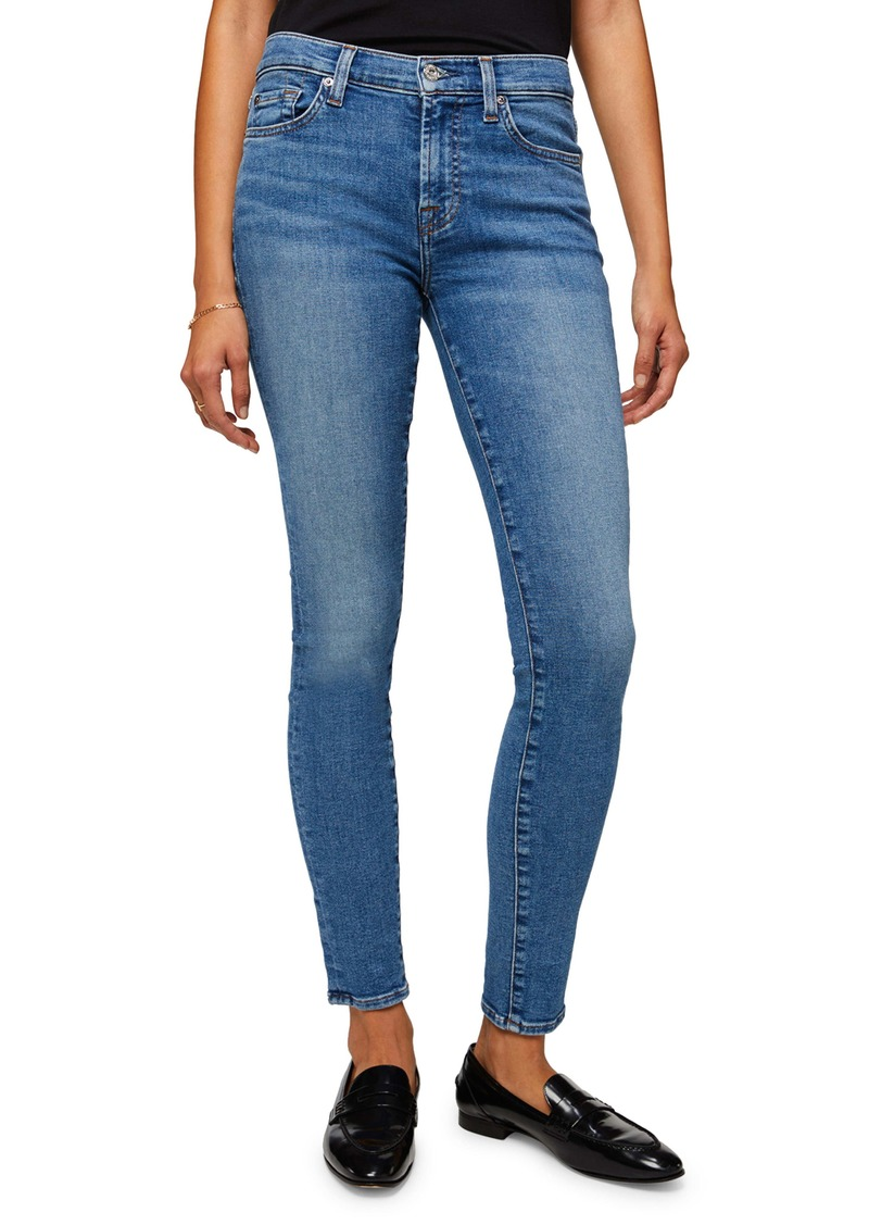 7 For All Mankind® The Ankle Skinny Jeans