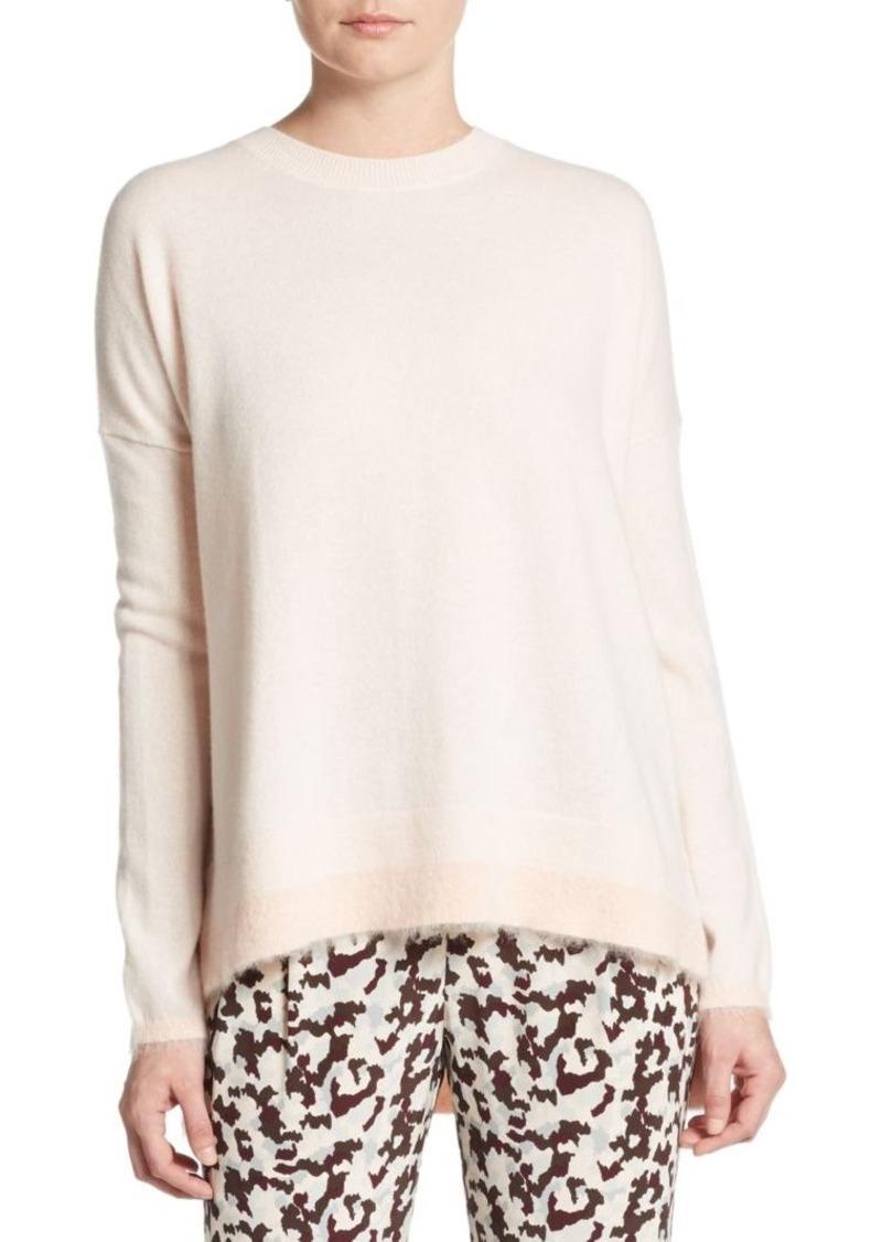 Derek Lam Oversized Cashmere & Mohair Sweater