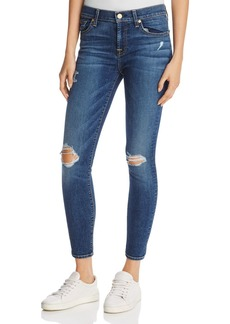 7 For All Mankind The Ankle Skinny Jeans in Medium Melrose 2