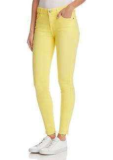 7 For All Mankind The Ankle Skinny Jeans in Vivid Yellow