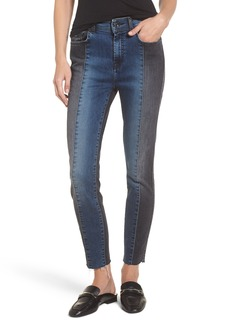 7 For All Mankind® The Ankle Skinny Jeans (Indigo Sulphur)