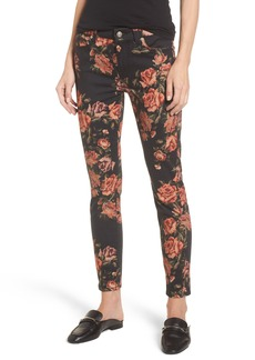7 For All Mankind® The Ankle Skinny Jeans (Needle Point Rose)
