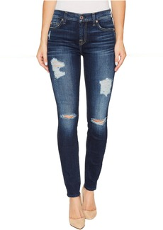 7 For All Mankind The Ankle Skinny w/ Destroy in Aggressive Madison Ave 2