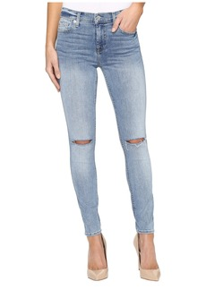7 For All Mankind The Ankle Skinny w/ Knee Slits in Cresent Valley