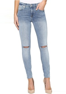 7 For All Mankind The Ankle Skinny w/ Knee Slits in Crescent Valley