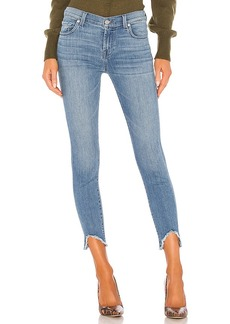 7 For All Mankind The Ankle Skinny Wave Hem