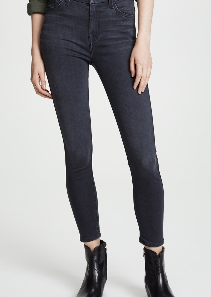 7 For All Mankind The B(air) High Waisted Ankle Skinny Jeans