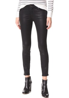 7 For All Mankind The Coated Ankle Skinny Jeans
