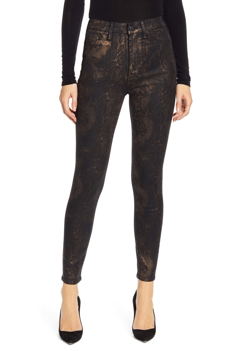 7 For All Mankind® The High Waist Ankle Skinny Jeans
