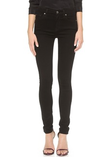 7 For All Mankind The High Waist Slim Illusion Luxe Skinny Jeans