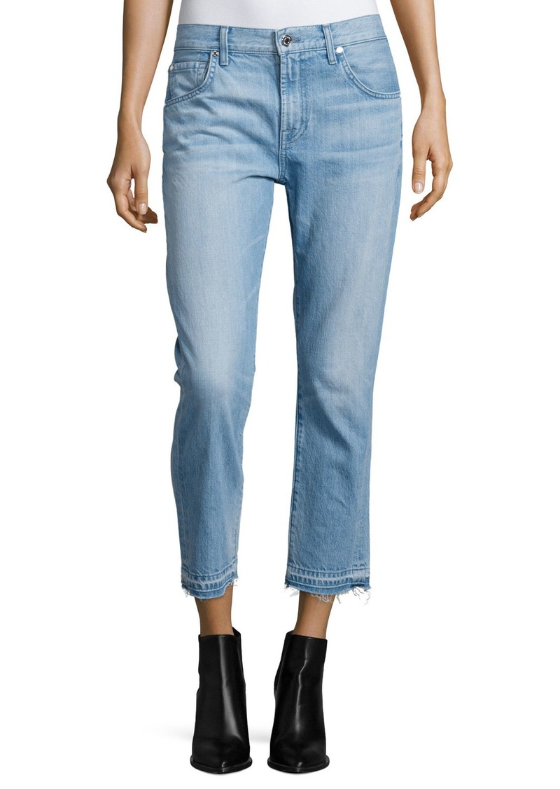 7 For All Mankind The Relaxed Skinny Cropped Jeans