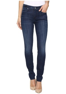 7 For All Mankind The Skinny in Bordeaux Broken Twill