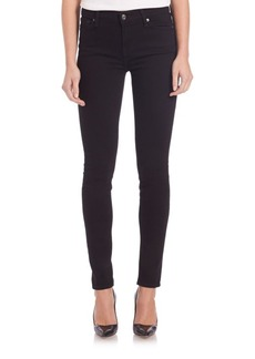7 For All Mankind Signature Pocket Dark Skinny Jeans