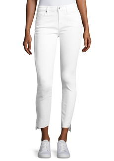 7 For All Mankind The Skinny Step Hem Jeans