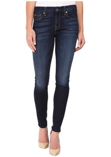 7 For All Mankind The Skinny w/ Tonal Navy Squiggle in Dark Canterbury