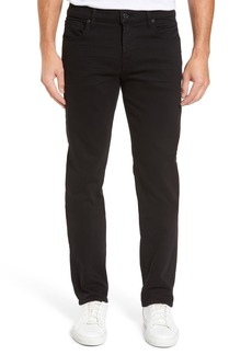 7 For All Mankind® The Standard Luxe Performance Straight Leg Jeans (Annex Black)