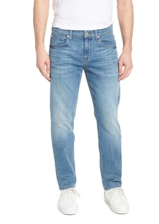 7 For All Mankind® The Straight Slim Straight Leg Jeans (Valhalla)