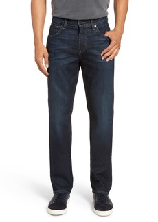 7 For All Mankind® The Straight Airweft Slim Straight Leg Jeans  (Walla Walla)