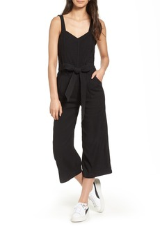 7 For All Mankind® Tie Belt Jumpsuit