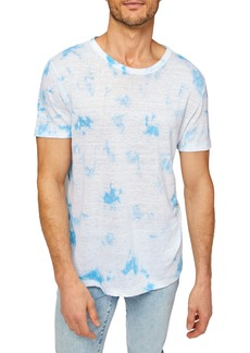 7 For All Mankind Tie Dye Crewneck T-Shirt