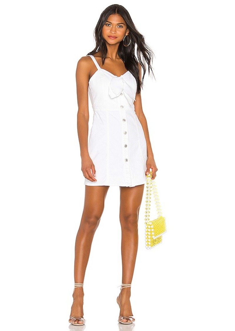 7 For All Mankind Tie Front Dress