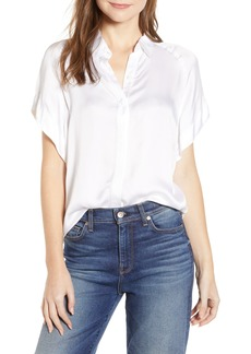 7 For All Mankind® Tie Front Shirt