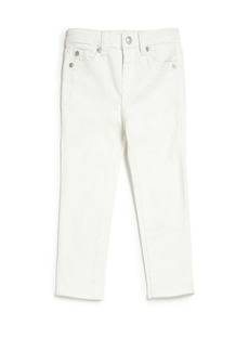 7 For All Mankind Toddler's & Little Girl's The Skinny White Jeans