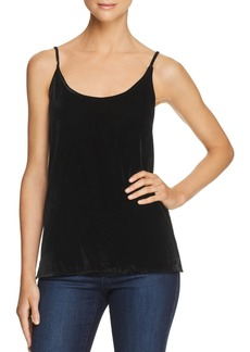 7 For All Mankind Velour Camisole Top