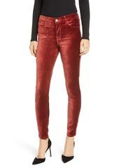 7 For All Mankind® Velvet Ankle Skinny Jeans