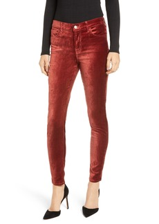 7 For All Mankind® Velvet Ankle Skinny Jeans