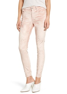 7 For All Mankind® Velvet Ankle Skinny Pants