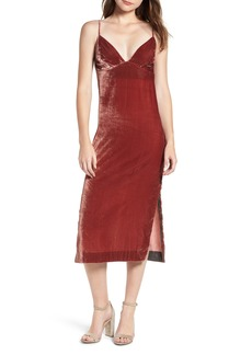 7 For All Mankind® Velvet Slipdress