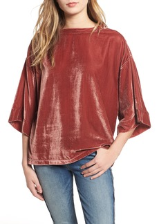 7 For All Mankind® Velvet Top