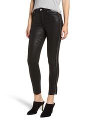 7 For All Mankind® Velvet Skinny Jeans (Black Coated)