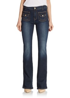 7 For All Mankind Vintage Trio Flared Jeans