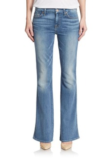 7 For All Mankind Whiskered Flare Jeans