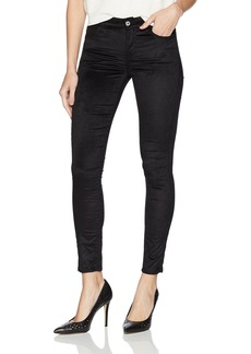 7 For All Mankind Women's Ankle Skinny Jean Black