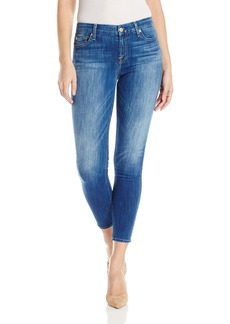 7 For All Mankind Women's Ankle Skinny Jean in