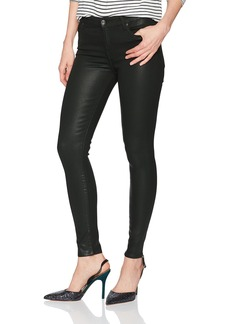 7 For All Mankind Women's Ankle Skinny Jean in Coated Color