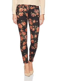 7 For All Mankind Women's Ankle Skinny Jean in Needle Point Rose