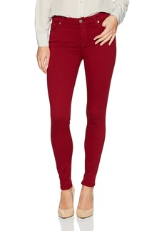 7 For All Mankind Women's Ankle Skinny Jean Red