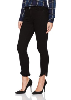 7 For All Mankind Women's Ankle Skinny Jean with Angled Raw Hem