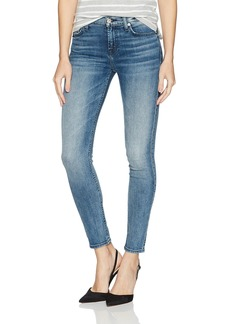 7 For All Mankind Women's Ankle Skinny Jean With Grinded Hem