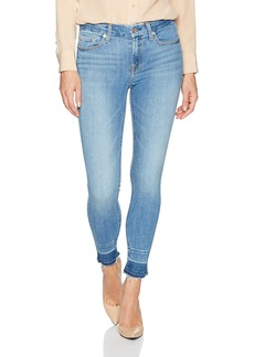 7 For All Mankind Women's Ankle Skinny Jean with Trouser Released Hem